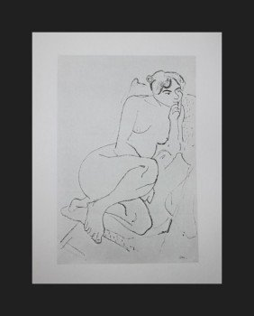 VINTAGE 1956 MATISSE LITHOGRAPH