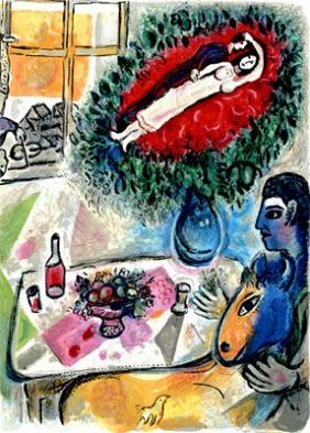 """MARC CHAGALL """"REVERIE"""""""