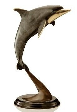 DOLPHIN BRONZE SCULPTURE