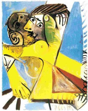 "PICASSO ""YELLOW EMBRACE"""
