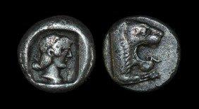 Greek Knidos - Caria - Drachm