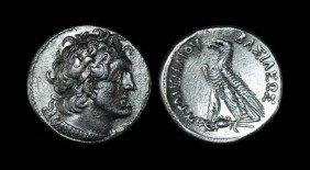 Egypt - Ptolemy V - Tetradrachm