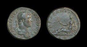 Roman Hadrian - Hispania - Sestertius
