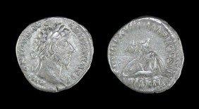Roman Marcus Aurelius - Armenia - Denarius