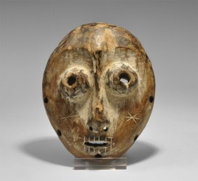 Congolese Wooden Miniature Mask