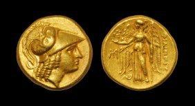 Greek Macedonia - Philip III - Athena Gold Stater