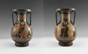 Greek Apulian Figural Pelike