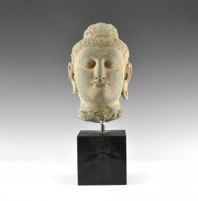 Gandharan Buddha Head