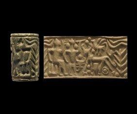 Western Asiatic Anatolian Cylinder Seal
