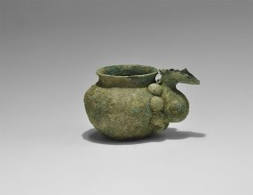 Western Asiatic Luristan Pouring Vessel