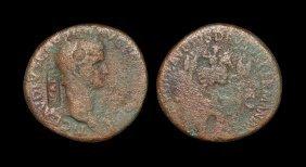 Ancient Roman Imperial Coins - Claudius - 'ncapr'