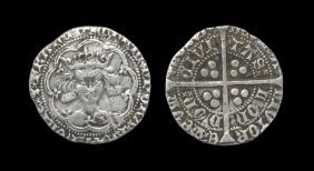 English Medieval Coins - Henry V - London - Class C