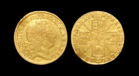 English Milled Coins - George I - 1715 - Gold Half