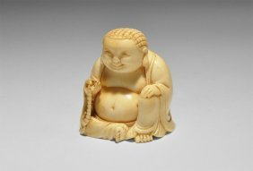 Chinese Seated Buddha Figurine