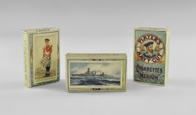 Player's 'modern Naval Craft', 'coronation Series' And