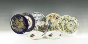 Vintage Ornamental Plate Group
