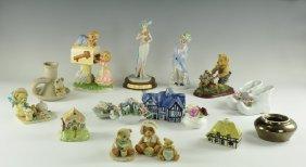 Vintage Decorative Figures Group
