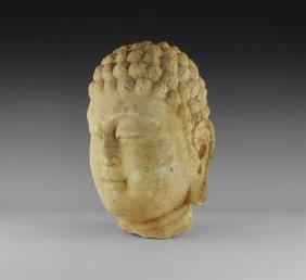 Chinese Buddha Statue Head