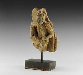 Gandharan Bodhisattva Statuette
