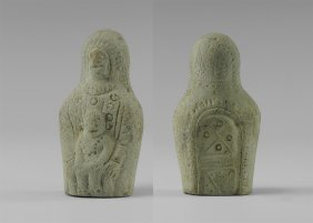 Byzantine Virgin And Child Idol