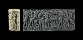 Western Asiatic Early Dynastic Cylinder Seal With