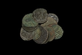 Ancient Byzantine Coins Early Issues - Mixed Large