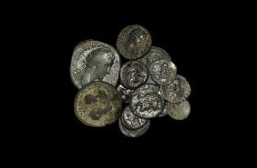 Ancient Greek Coins - Mixed Greek To Byzantine Bronzes