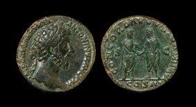 Ancient Roman Imperial Coins - Marcus Aurelius -