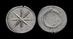 Ancient Roman Imperial Coins - Constantine I - Star And
