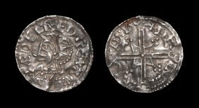 Anglo-saxon Coins - Aethelred Ii - Lincoln / Stegncil -