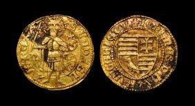 World Coins - Hungary - Johann Hunyadi - Gold Gulden