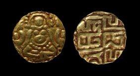 World Coins - India - Hindu Dynasties - Gold Dinar