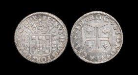 World Coins - Portugal - Peter Ii - 1687 - 200 Reis