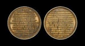 English Commemorative Medals - William Iv - 1830 -