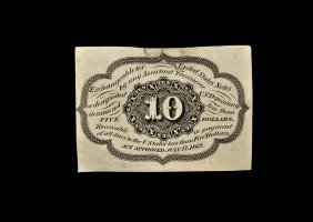 World Banknotes - Usa - Postage Currency - 10 Cents