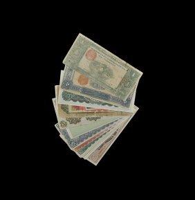 World Banknotes - Mexico - Revolutionary Mixed Notes