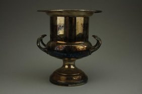European Silver-plated Wine Cooler