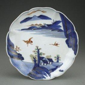 Japanese Gilded Arita Plate