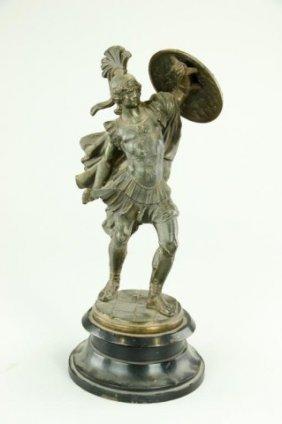 Bronze Figure Of A Trojan