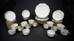 55 Pieces Haviland France Dinner Ware