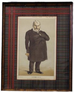 "Framed Print ""statesman No.91"""