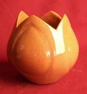 Van Briggle Tulip Form Vase, Brown
