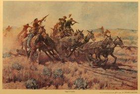 Nick Eggenhofer(1897 -1985),limited Edition Print,
