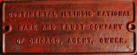 Railroad Trust Tag,