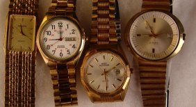 Wristwatch Set Of 4,