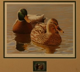 Nathan Closson, Duck Stamp, Limited Edition Print,