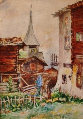 Olive Groon Pyle, Watercolor,