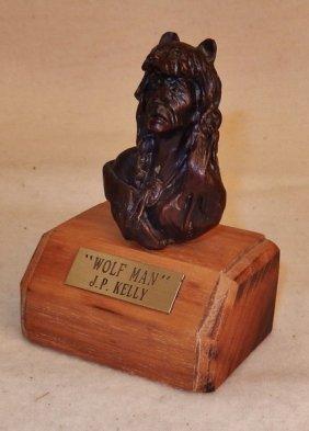 J.p. (jack) Kelley (20th Century), Bronze,