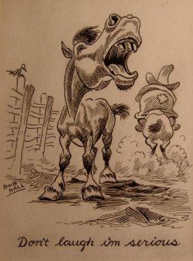 Bob Hall, Original Illustration,
