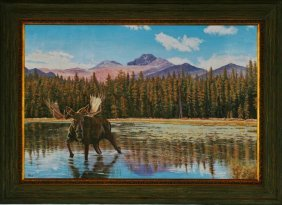 Gary R. Johnson, Oil On Canvas,